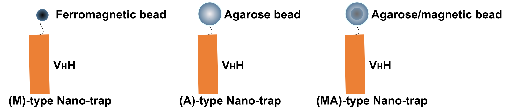 Three forms of Nano-Traps